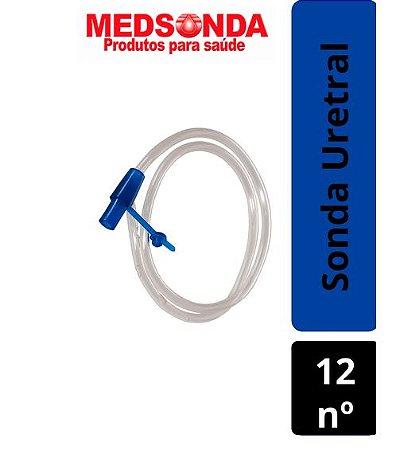 Sonda Uretral Descartável Estéril N º12 - Medsonda