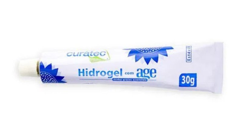 Hidrogel com AGE (30g) - Curatec