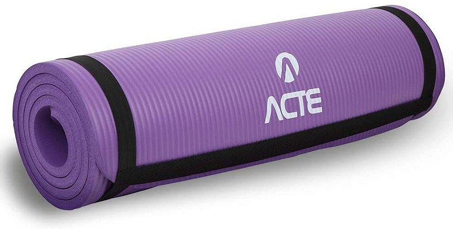 Tapete para Exercícios Comfort Roxo - ACTE