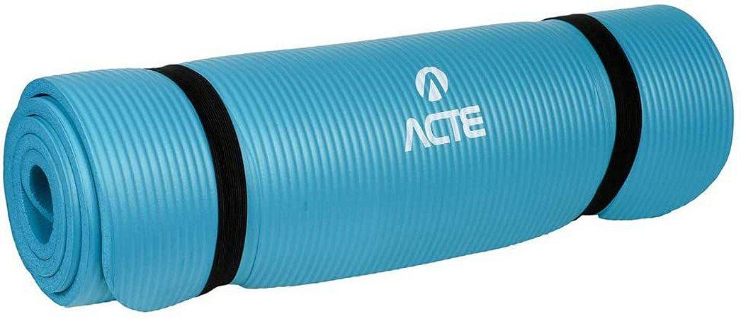 Tapete para Exercícios Comfort Azul - ACTE