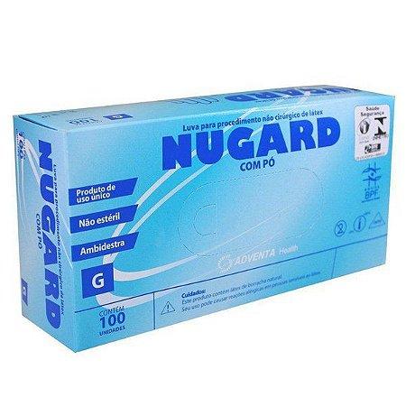 Luva de Procedimento Látex Não Estéril Tam. G - Nugard