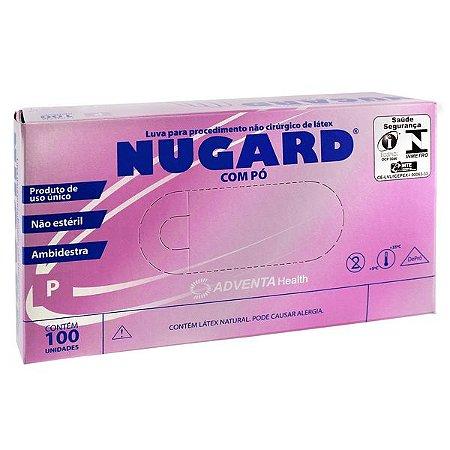Luva de Procedimento Látex Não Estéril Tam. P - Nugard