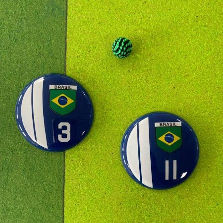 BRASIL - Fundo Azul