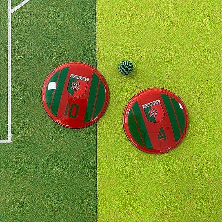 PORTUGAL - 4 Faixas Verdes