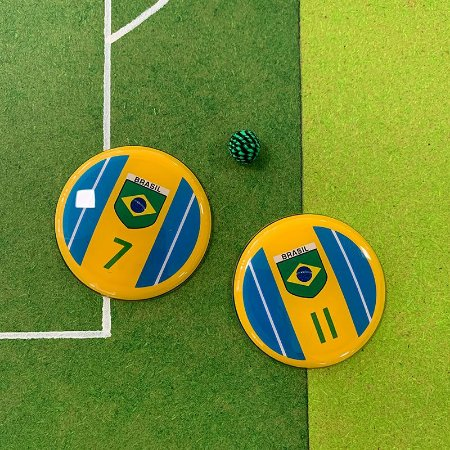 BRASIL - 4 Faixas Azuis