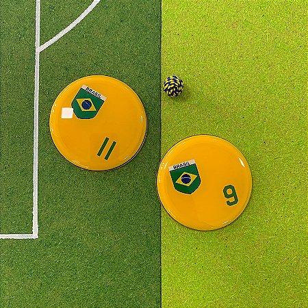 BRASIL - Sem Faixas - Números Verdes