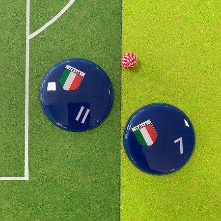 ITÁLIA - Sem Faixas - Fundo Azul