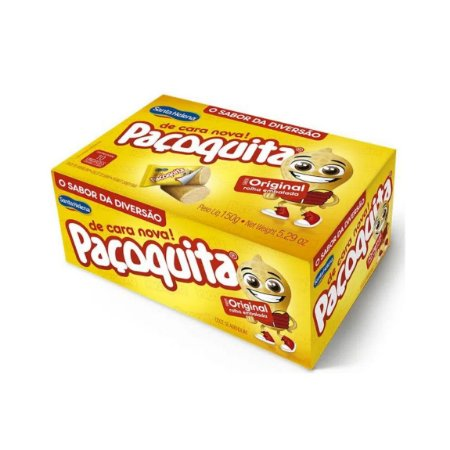 Pacoquita Rolha Embalada 150g - 10 Unid