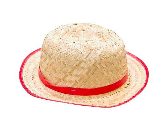 Chapéu de Palha Festa Junina  Menino - 1 unid