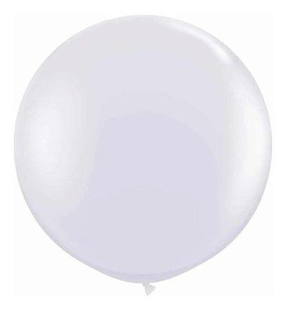 Balão Bexiga Fat Ball N25 Branco -  Pic Pic