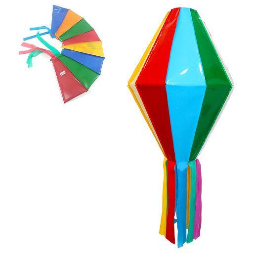 Balão Plástico Liso Colorido - 50cm