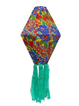 Balão de Plástico Chita Florido - 50cm  - KLF