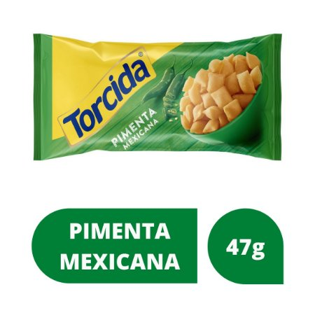 Salgadinho de Trigo Torcida Jr. Pimenta Mexicana 47g