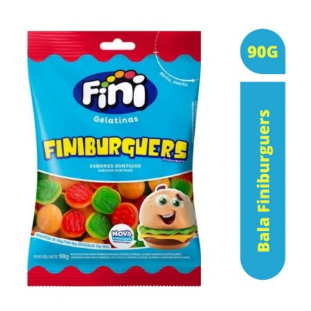 Bala Finiburguers 90g - Fini