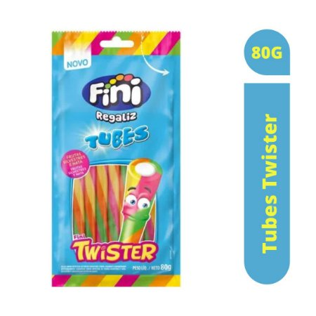 Bala Tubes Twister 80g - Fini