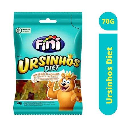 Bala Ursinhos Diet 70g - Fini