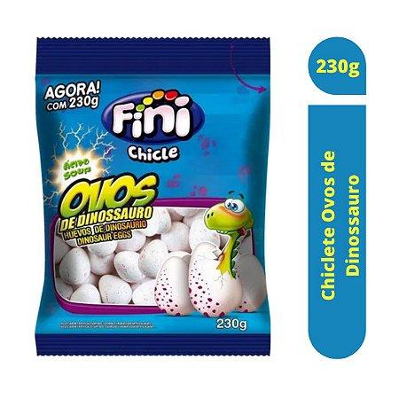 Chiclete Ovos de Dinossauro com Recheio Cítrico 230g - Fini