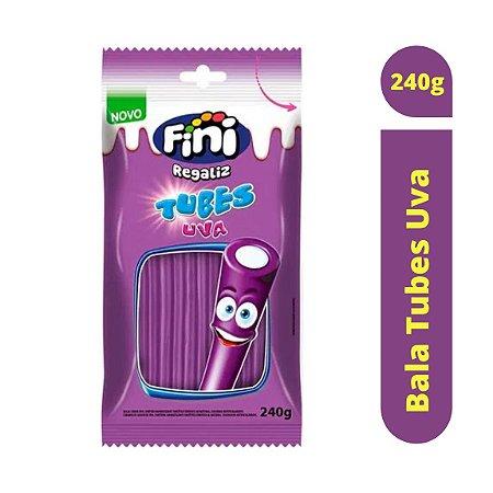 Bala Tubes Uva 240g - Fini