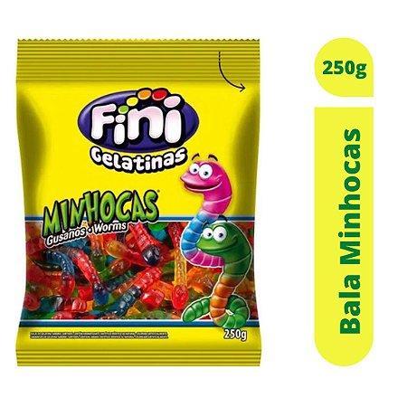 Bala Minhocas 250g - Fini