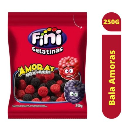 Bala Amoras 250g - Fini