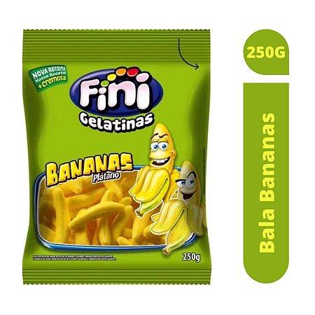 Bala Bananas 250g - Fini