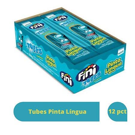 Bala Tubes Pinta Língua com 12 unidades de 17g cada - Fini