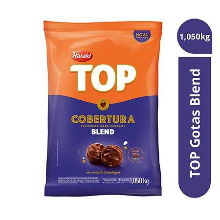 Cobertura Chocolate Blend Top - Gotas 1,050kg Harald