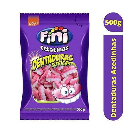 Bala Dentaduras Azedinhas 500g - Fini