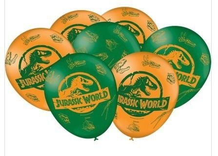 Balão Bexiga Jurassic World 2 - 25uni