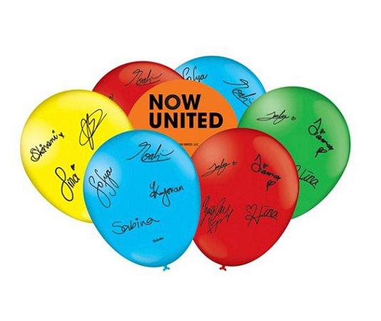 Balão Bexiga Now United 9  - 25uni