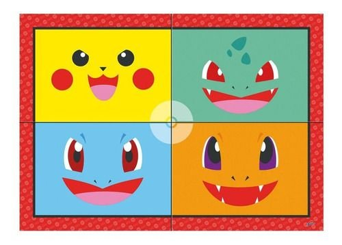 Painel Decorativo Pokémon - Junco - Único