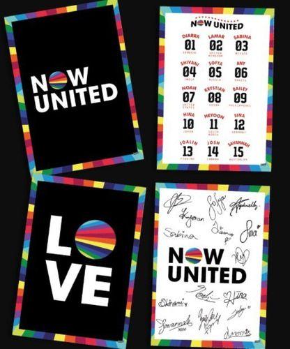 Quadros Decorativos Now United - 4 Uni