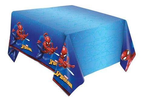 Toalha De Mesa Homem Aranha Spiderman- 1 Unid