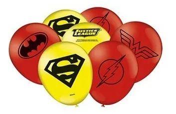 Balão Bexiga Liga Da Justiça - 25uni