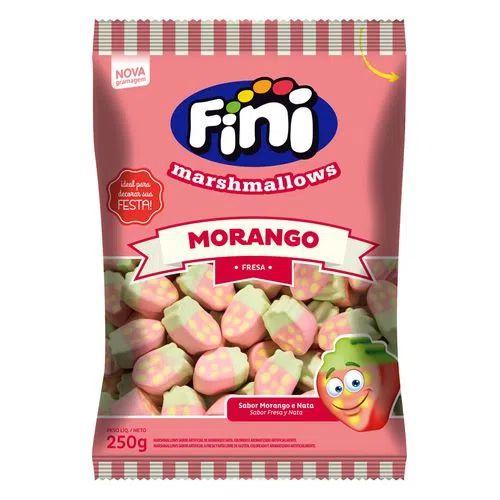 Marshmallow Morango 250g - Fini
