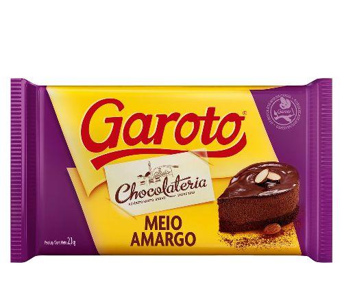 Chocolate Cobertura Meio Amargo Garoto 2.1kg
