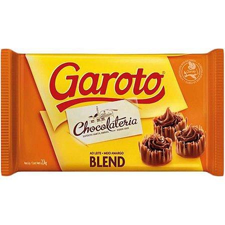 Chocolate Cobertura Garoto Blend 1kg