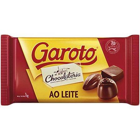 Chocolate Cobertura Garoto ao Leite 1kg