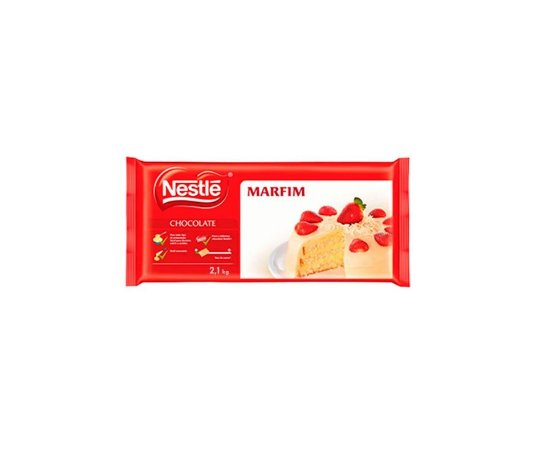 Cobertura Chocolate Nestle Branco - Barra 2,1kg