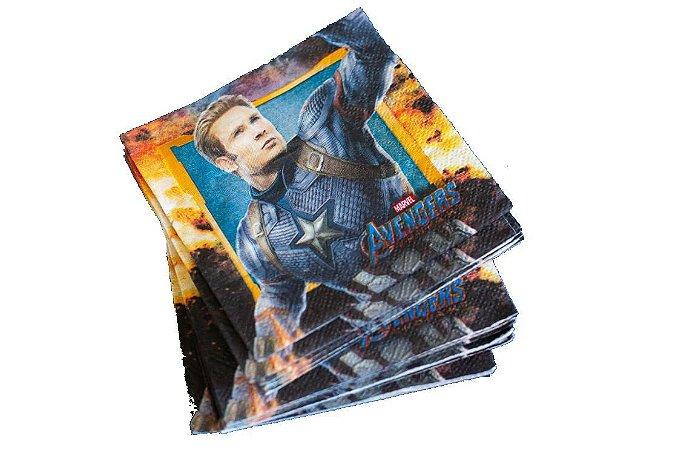 Guardanapo Avengers Vingadores Super Herois - 16 folhas
