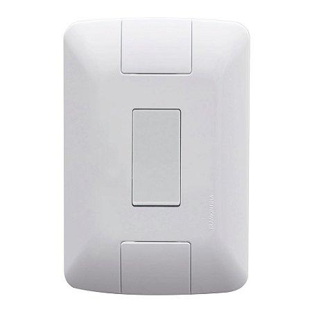 Conjunto De Interruptor Simples Aria 6A 10A 250V Branco Tramontina