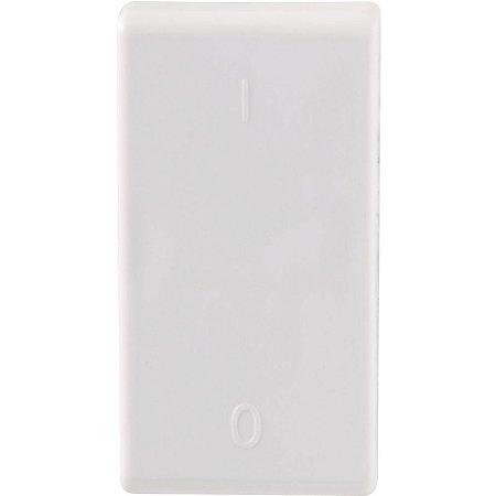 Módulo Interruptor Bipolar Simples Aria 10A 250V Branco Tramontina