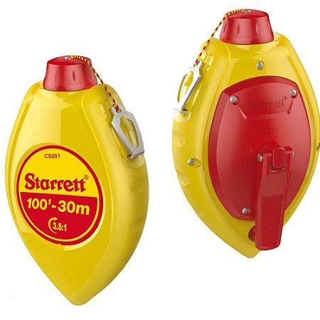 Giz De linha 30m Com Refil Vermelho KCS001R-S Starrett