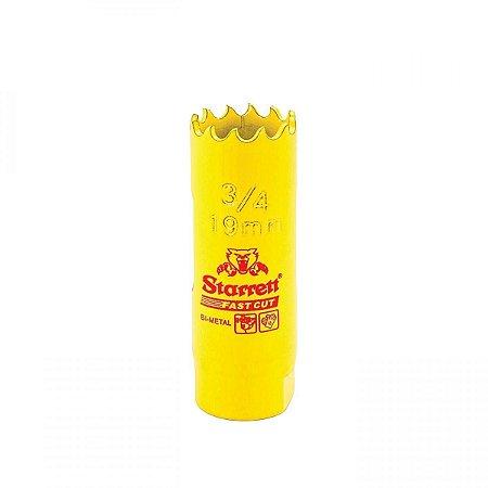 Serra Copo Fast Cut 19mm FCH020M-G 3/4 Starrett