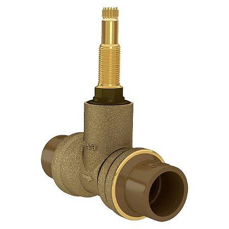 Registro De Base Facil Pressão 25MM Soldavel PVC 4416.202 Deca