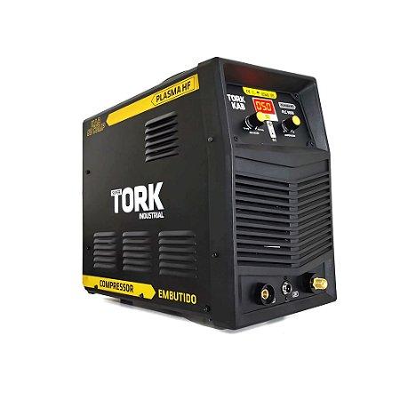 Inversor De Solda Corte Plasma HF Com Compressor  PLC-9050 -220V Super Tork