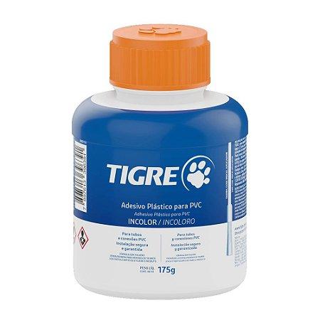 Adesivo PVC Frasco 175G Com Pincel Tigre