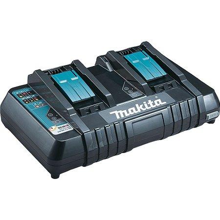 Carregador De Bateria Makita DC18RD 14.4/18V460W-220V