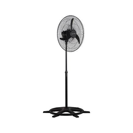 Ventilador Oscilante de Coluna Preto 60cm Bivolt Ventisol
