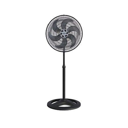 Ventilador Oscilante de Coluna Preto 50cm Bivolt Ventisol